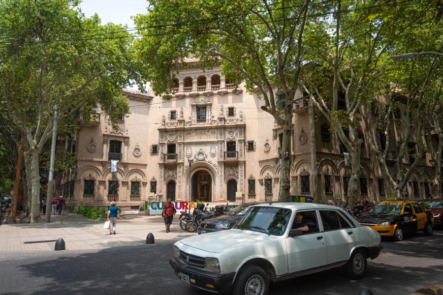 Ville de Mendoza en Argentine