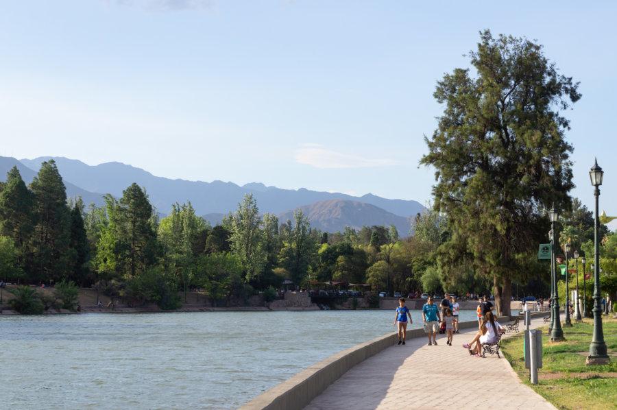 Parc San Martin à Mendoza, Argentine