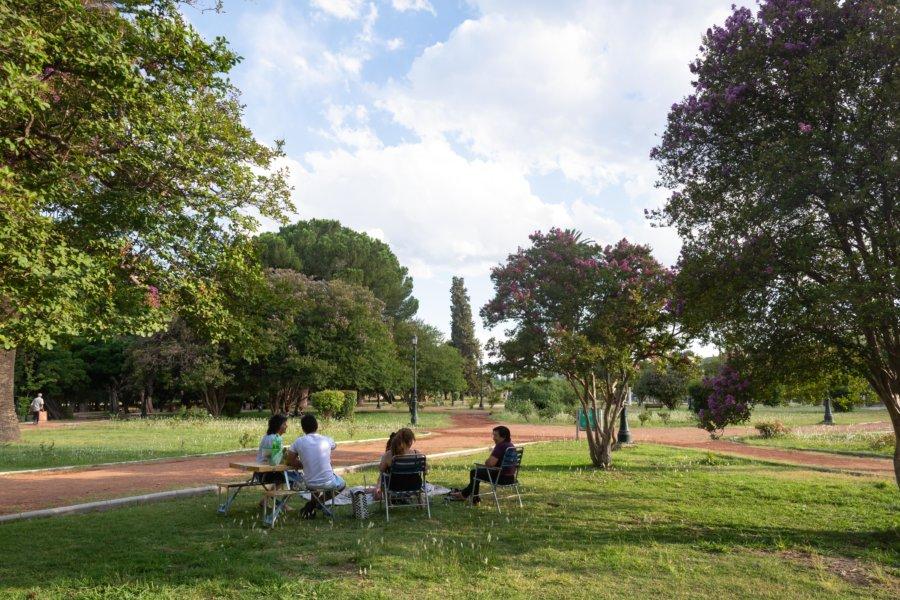 Pique-nique argentin à Mendoza