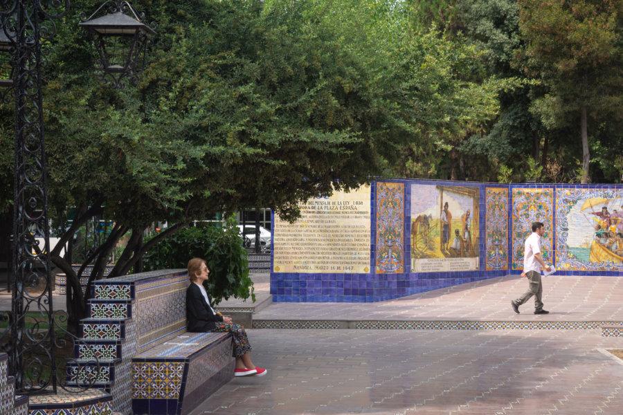 Place d'Espagne à Mendoza