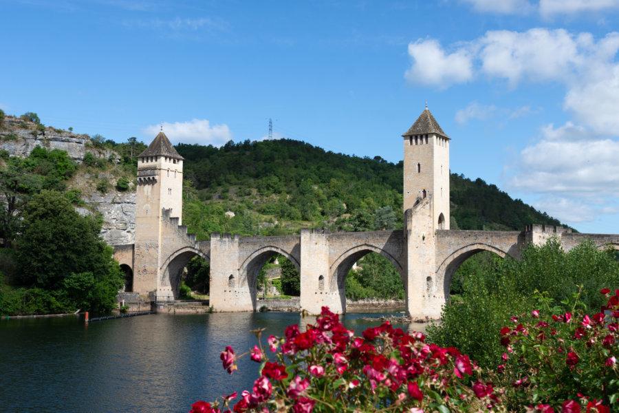 Pont Valentré à Cahors, Lot
