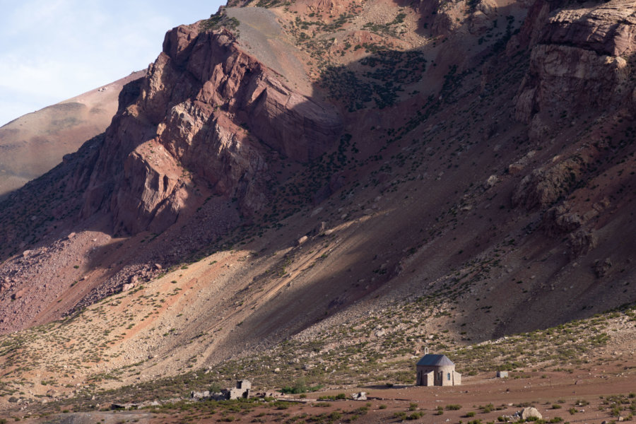 Chapelle de Puente del Inca en Argentine
