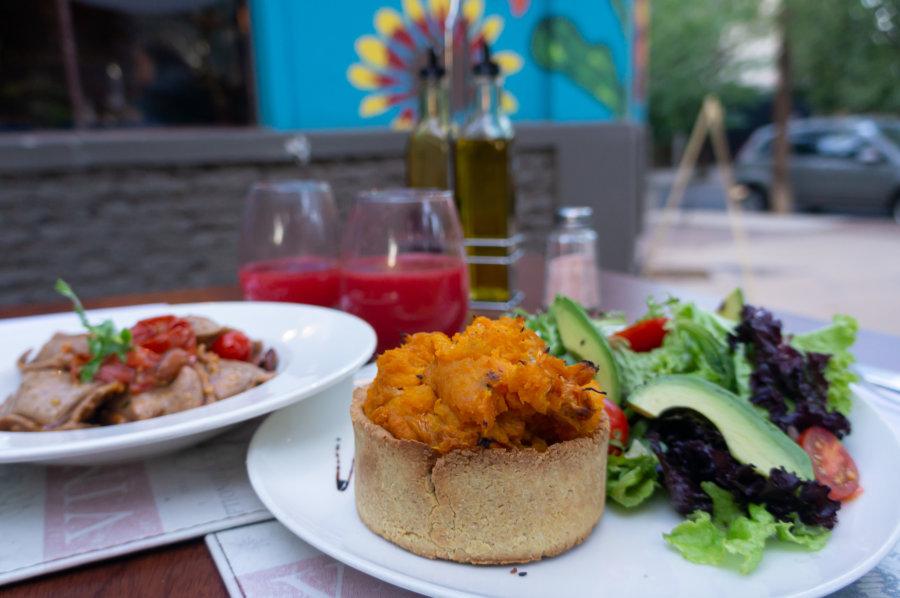 Restaurant végétarien à Mendoza, Argentine