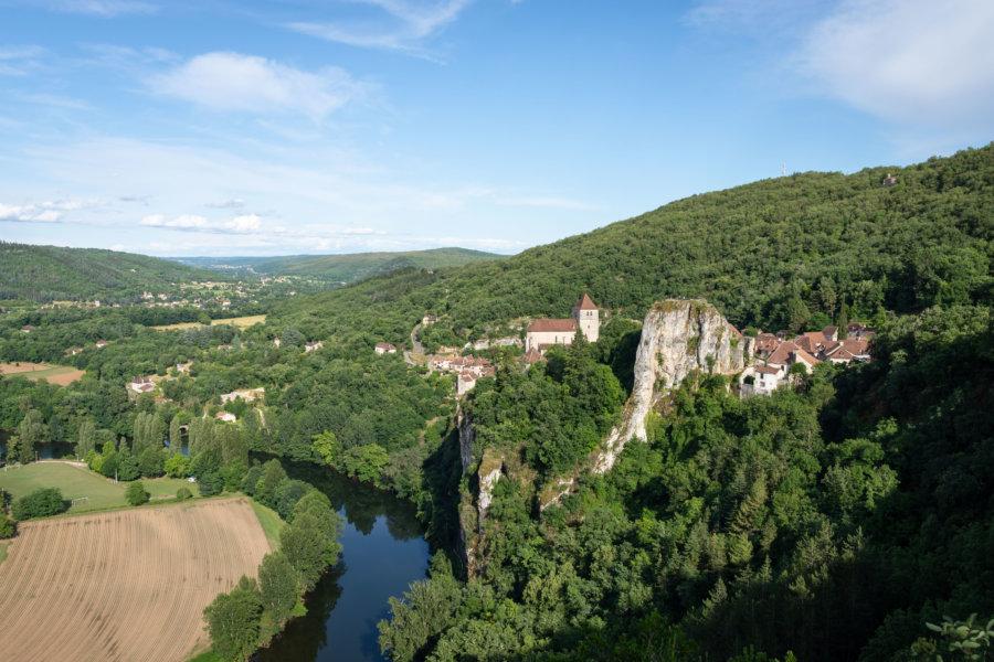 Rocher de Saint-Cirq-Lapopie