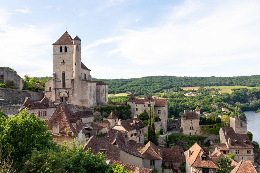 Saint-Cirq-Lapopie, plus beau village de France