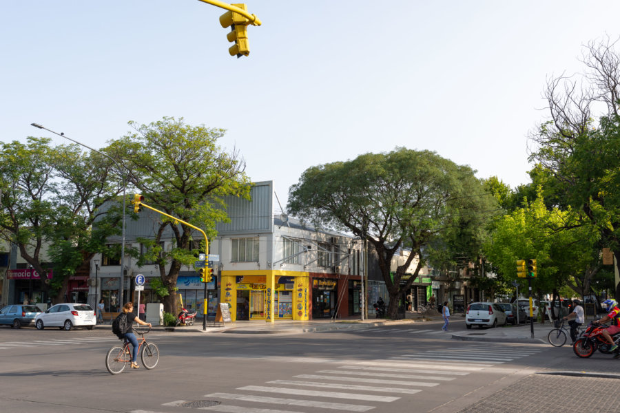 Ville de San Rafael en Argentine
