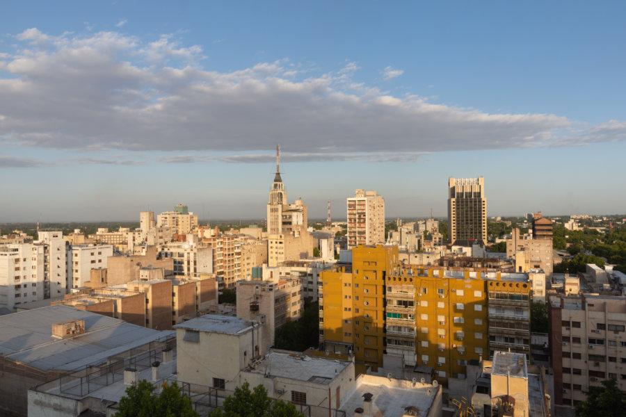 Vue panoramique sur Mendoza en Argentine