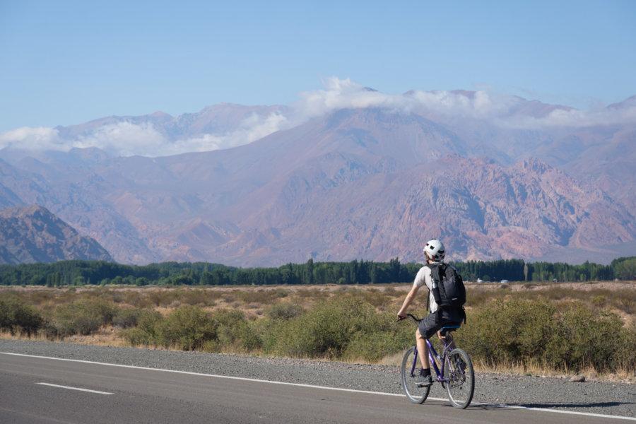 Cyclotourisme à Uspallata