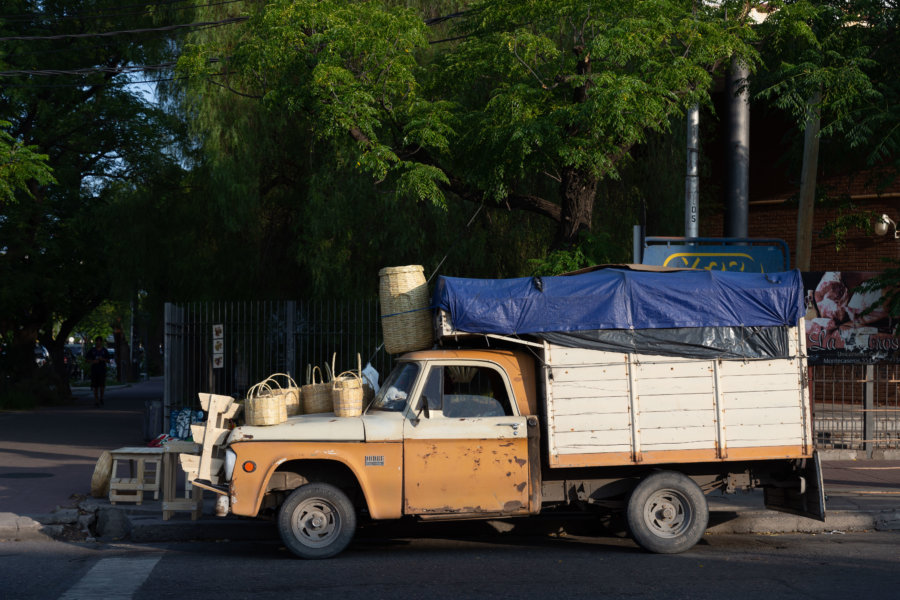Vieille voiture à San Rafael