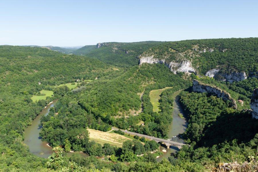 Cirque de Bône, gorges de l'Aveyron, Saint-Antonin-Noble-Val