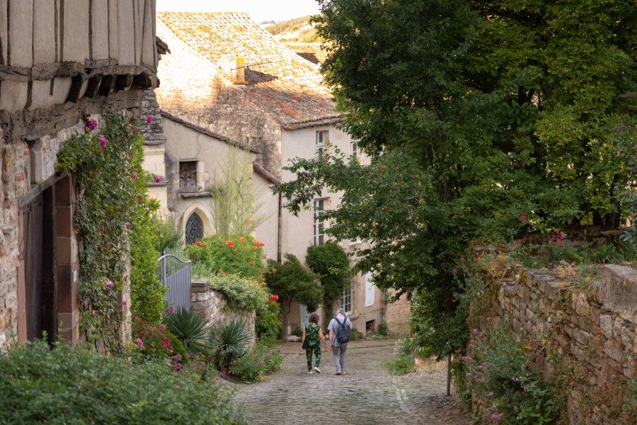 Rue Barbacane à Cordes-sur-Ciel