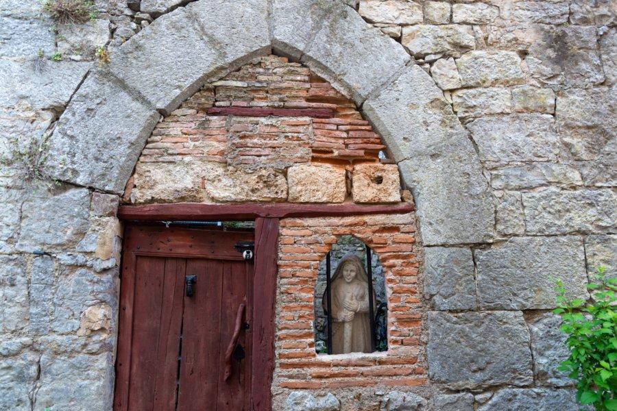 Vieille façade à Saint-Antonin-Noble-Val