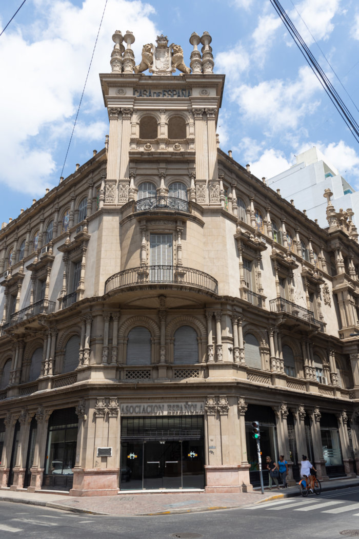 Beau bâtiment à Rosario, Argentine