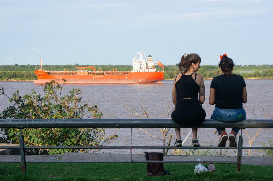 Parc près du fleuve Paraná à Rosario