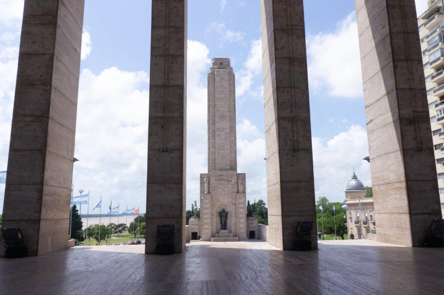 Monument national au drapeau à Rosario, Argentine