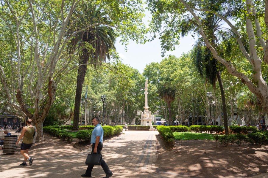 Parc au centre de Rosario, Argentine
