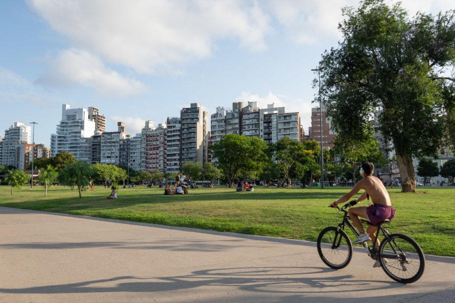 Parc à Rosario en Argentine