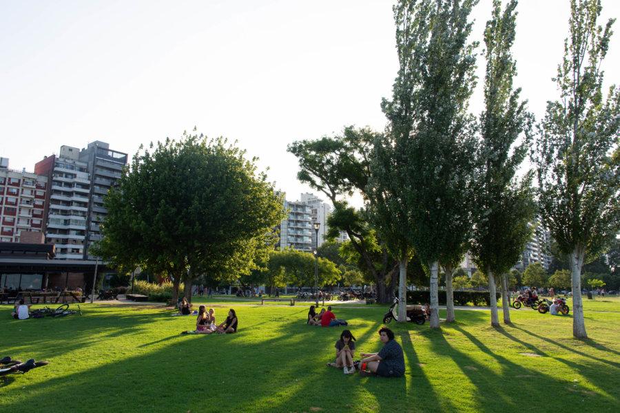 Parque Colectividades à Rosario, Argentine
