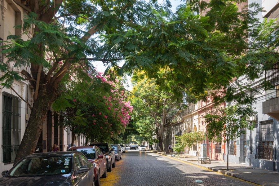Rue de Rosario en Argentine