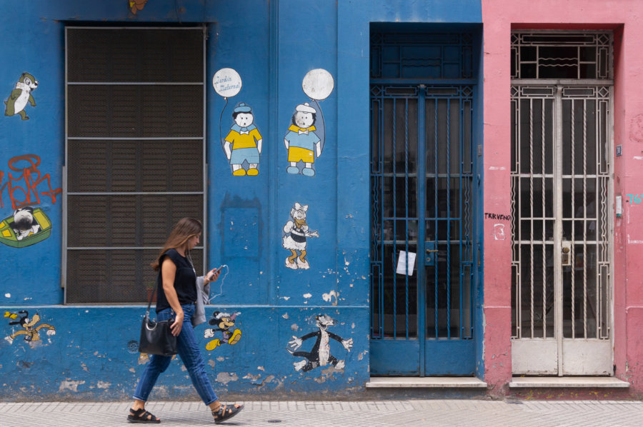 Rue de Rosario, Argentine