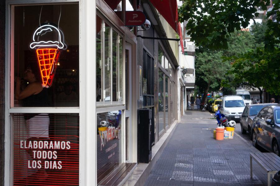 Vendeur de glaces à Rosario