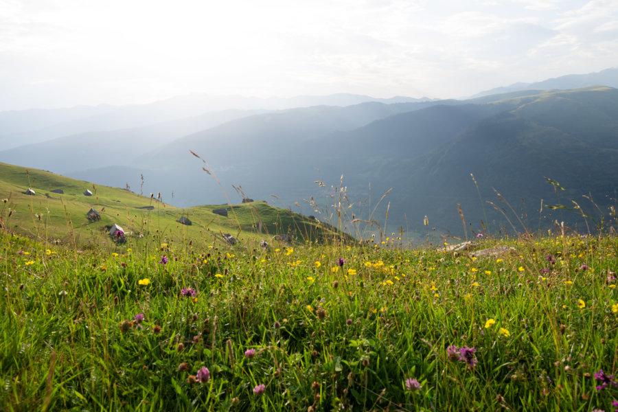 Granges de Grascoueou : randonnée l'été dans les Pyrénées
