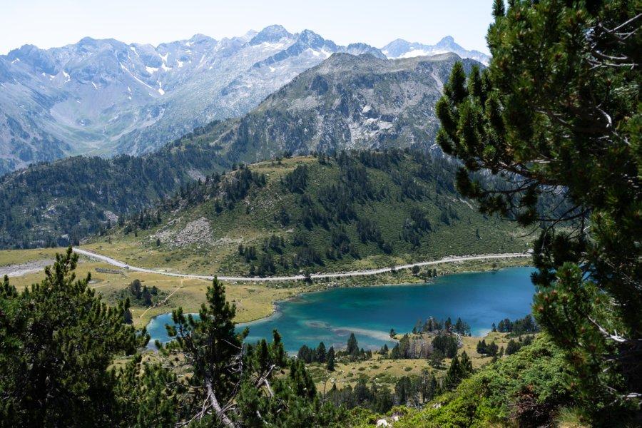 Randonnée vers le lac d'Aumar dans les Pyrénées