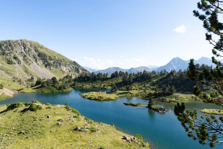 Lac de Bastan du milieu, Néouvielle, Pyrénées
