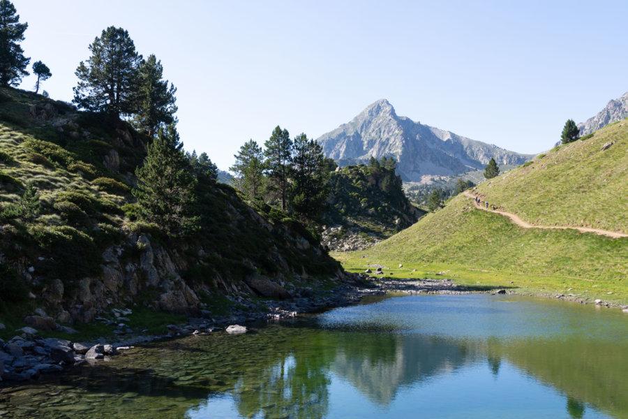 Lac inférieur de Bastan, réserve de Néouvielle