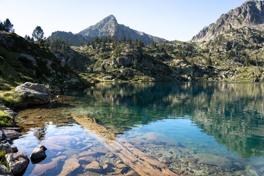 Lac de Bastan supérieur, réserve du Néouvielle