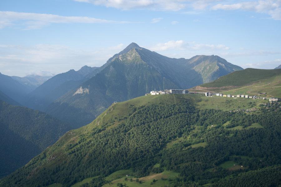 Pla d'Adet, montagnes des Hautes-Pyrénées