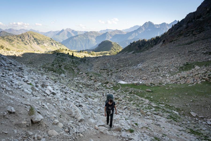 Randonnée dans le massif du Néouvielle, Pyrénées