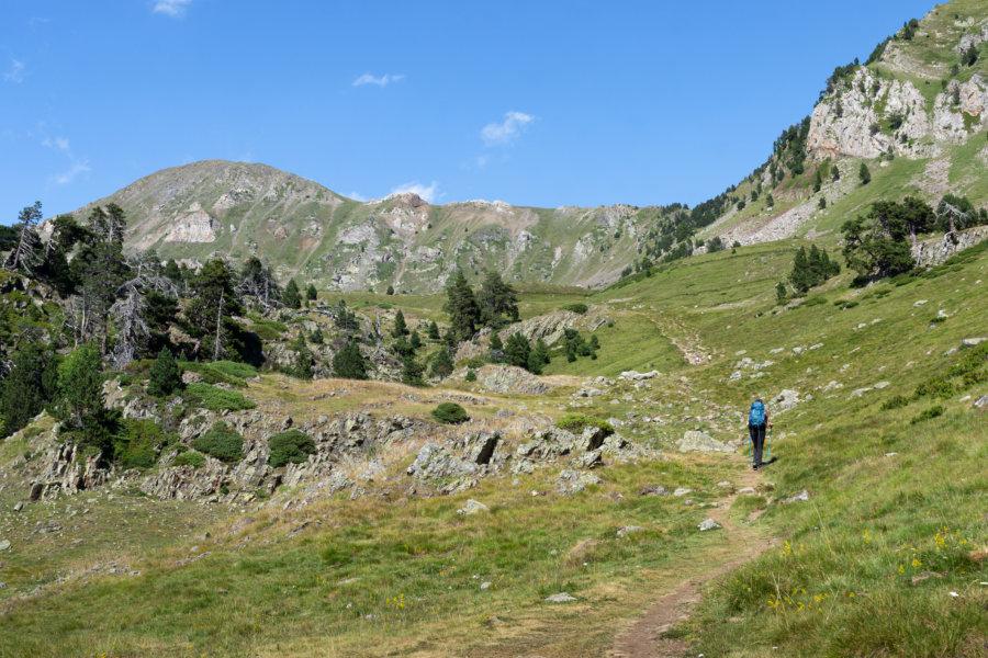 Randonnée dans les montagnes des Pyrénées, Néouvielle
