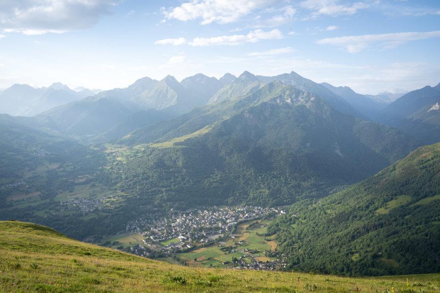 Village de Saint-Lary-Soulan, Hautes-Pyrénées l'été