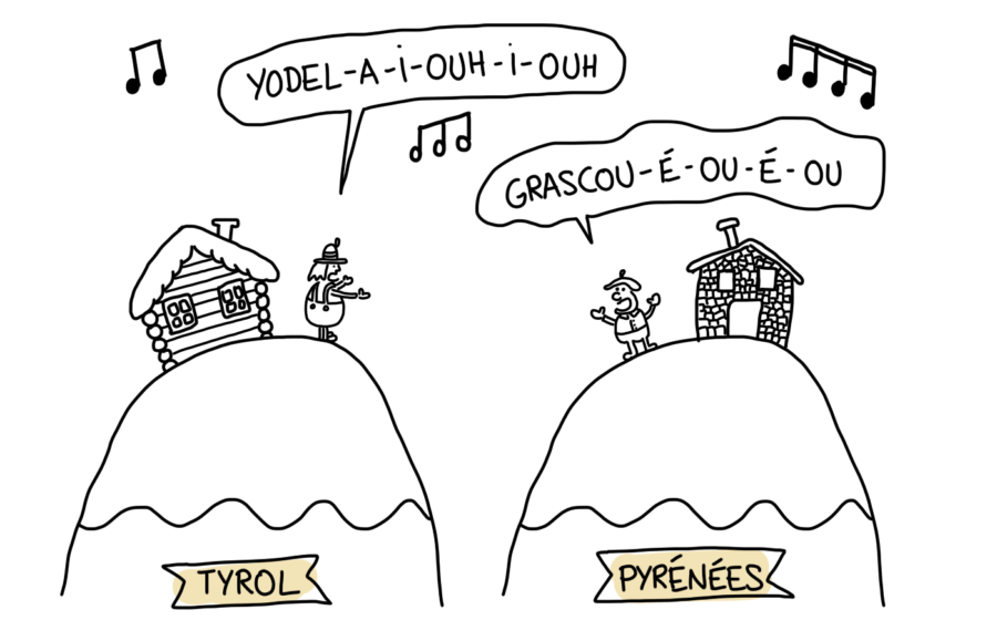 Chants du Tyrol vs Pyrénées