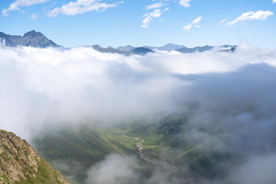 Randonnée dans la vallée de Gela, Hautes-Pyrénées
