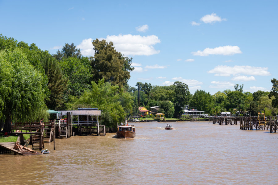 Excursion à Tigre sur le rio Plata