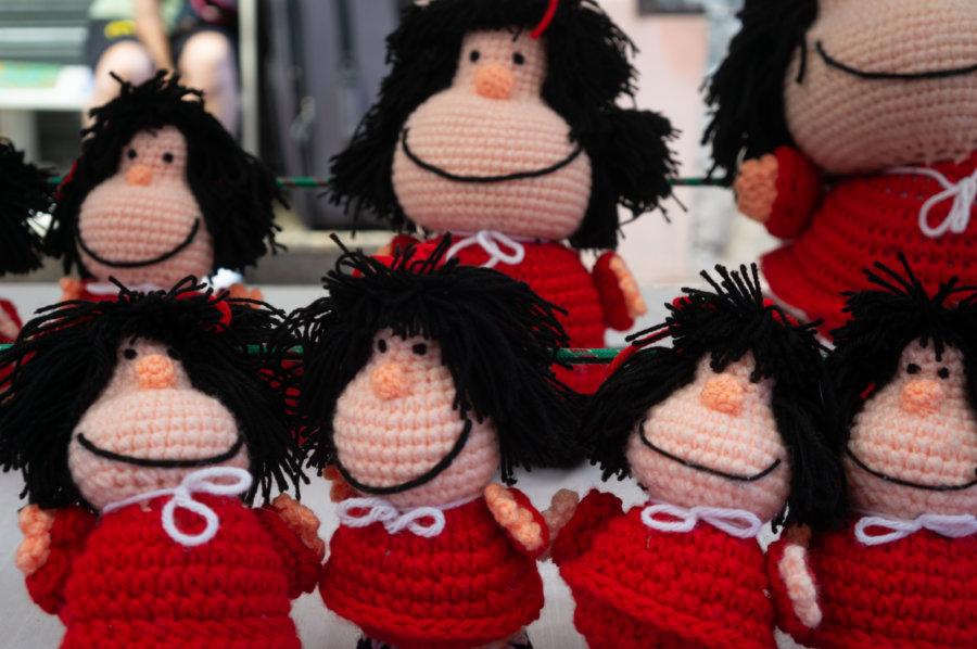 Poupées Mafalda en tricot