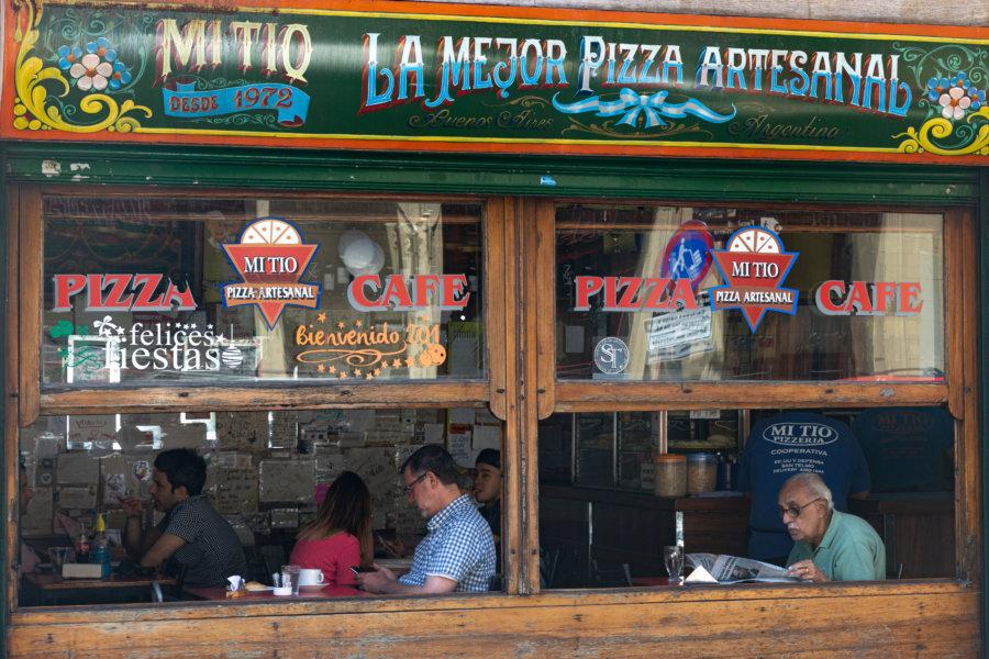 Restaurant à San Telmo, Buenos Aires