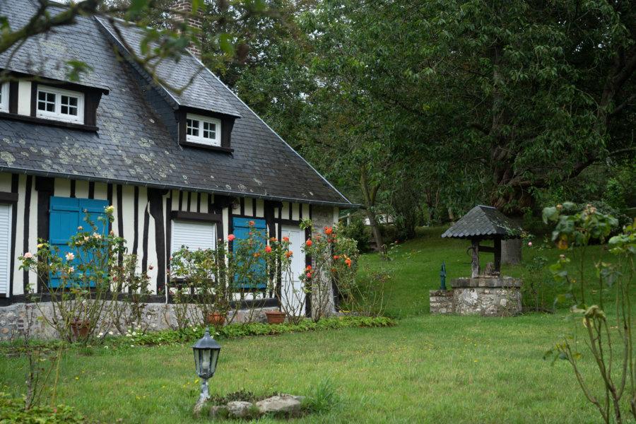 Belle maison normande à Veulettes-sur-Mer, randonnée GR21 Normandie