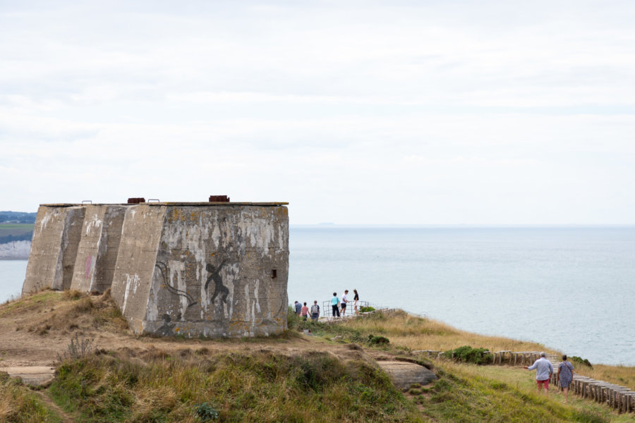 Bunkers en Normandie près de Fécamp