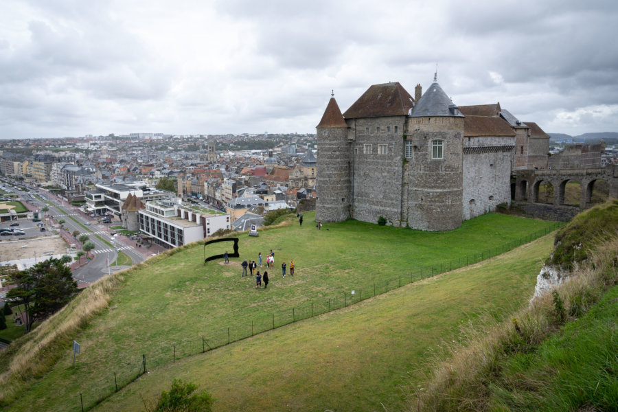 Château de Dieppe en Normandie