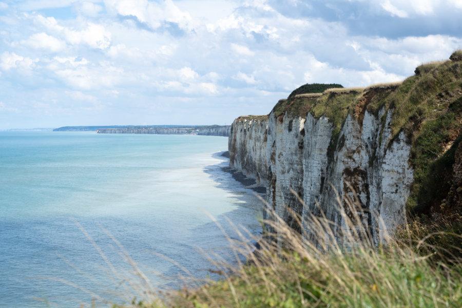 Randonnée GR21 sur la côte d'Albâtre en Normandie