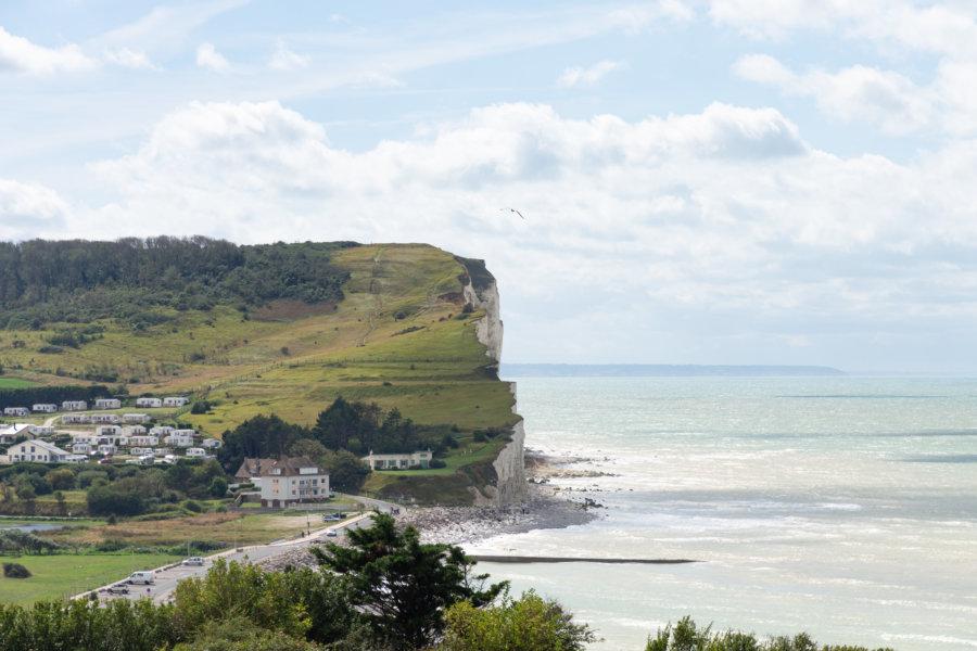 Falaises de Criel-sur-Mer en Normandie