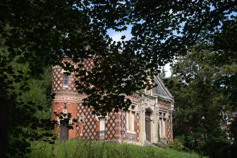 Grande maison normande du pays de caux