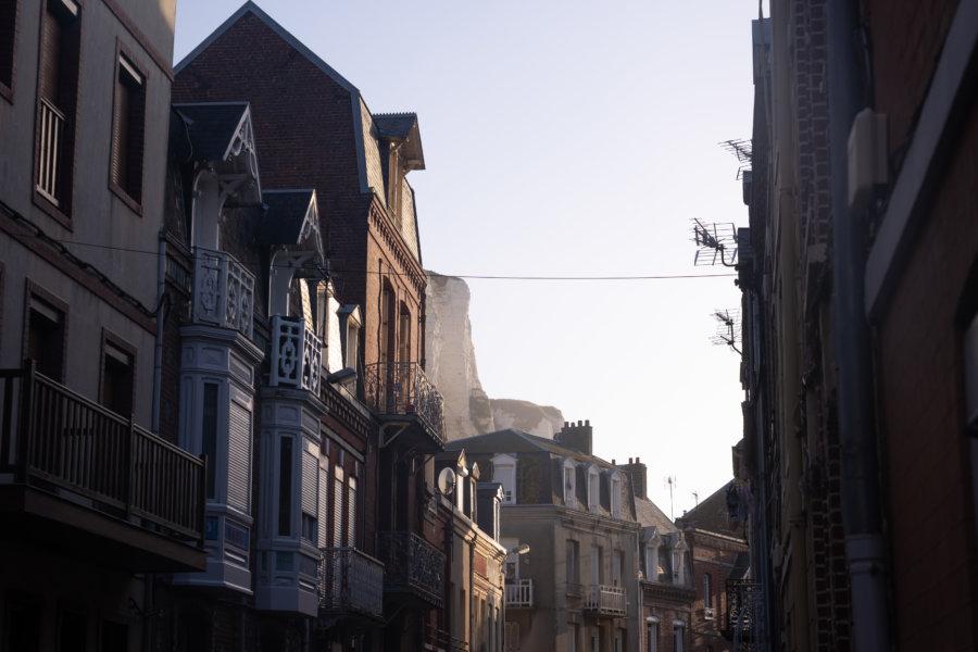 Quartier des Cordiers, maisons au Tréport