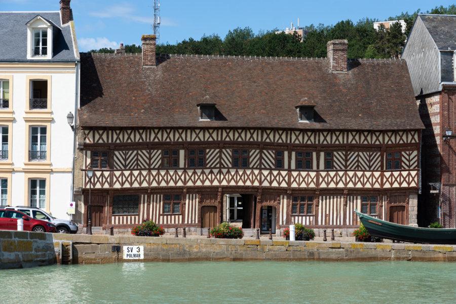 Maison d'Henri IV à Saint-Valery en Caux, randonnée GR21