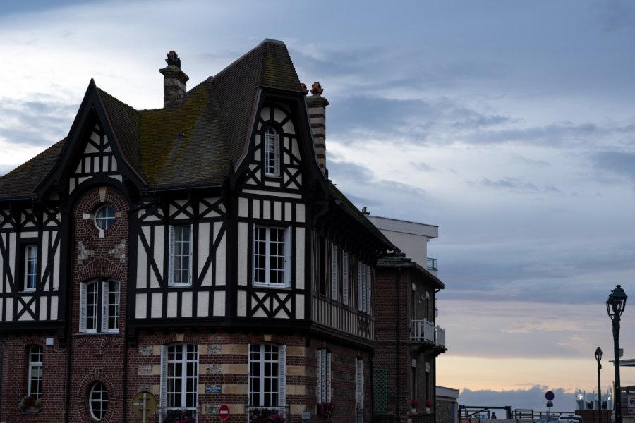 Maison normande à Etretat