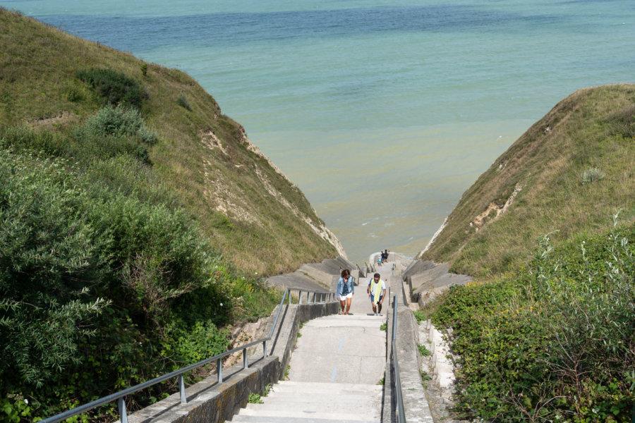 Valleuse de la côte d'Albâtre sur le GR21 en Normandie