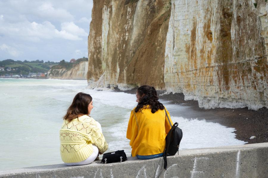 Valleuse des moutiers en Normandie près de Dieppe